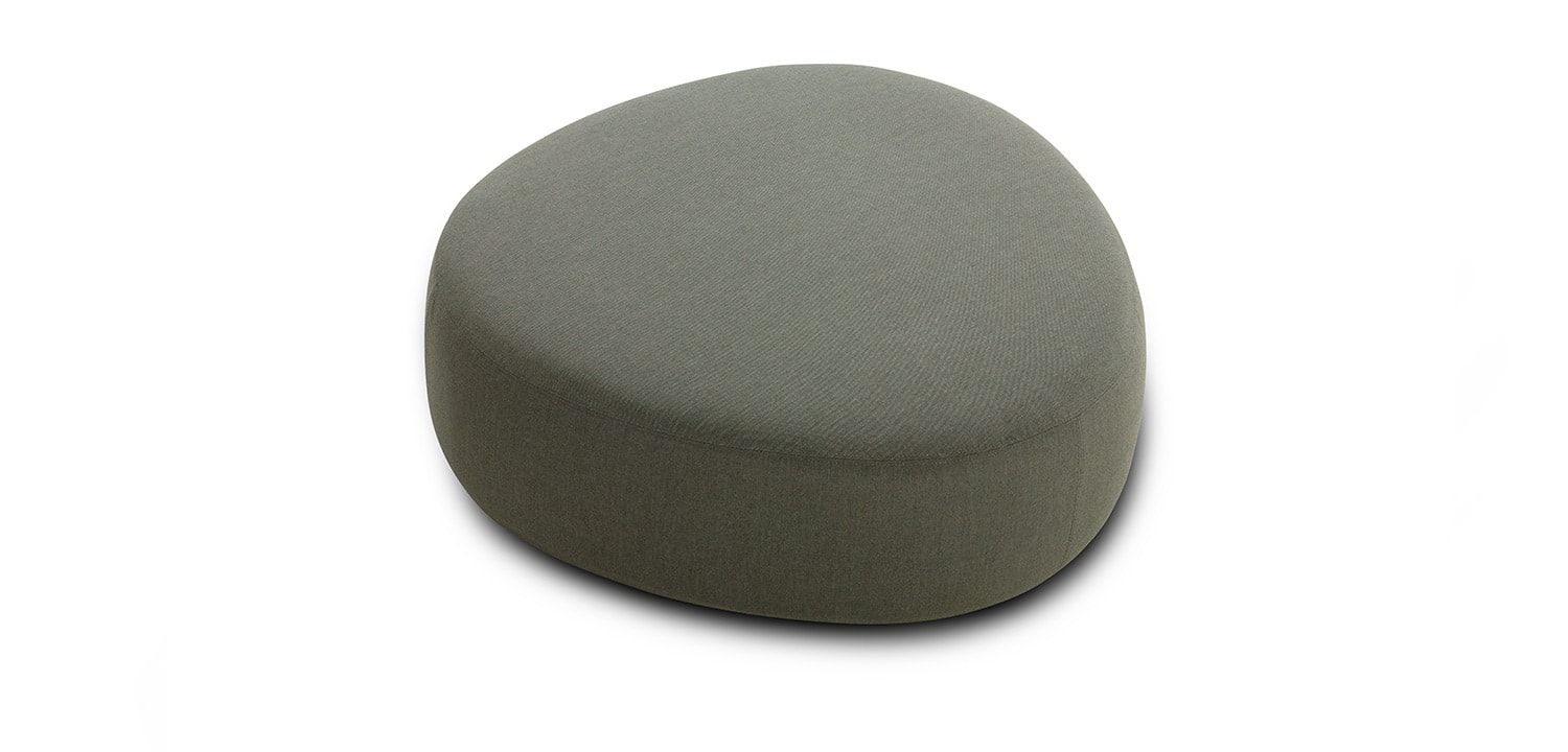 Crescent Outdoor Ottomans