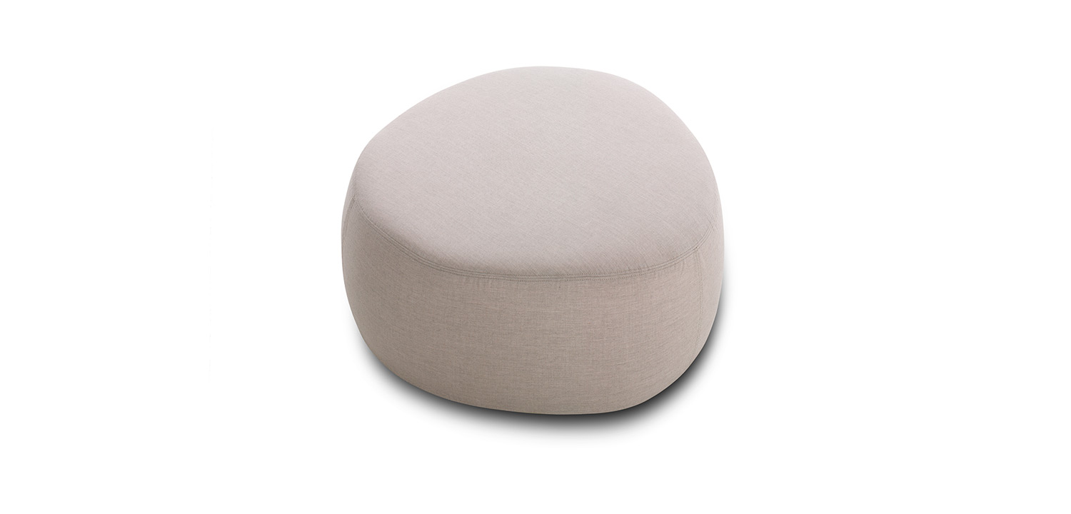 Crescent Outdoor Ottoman