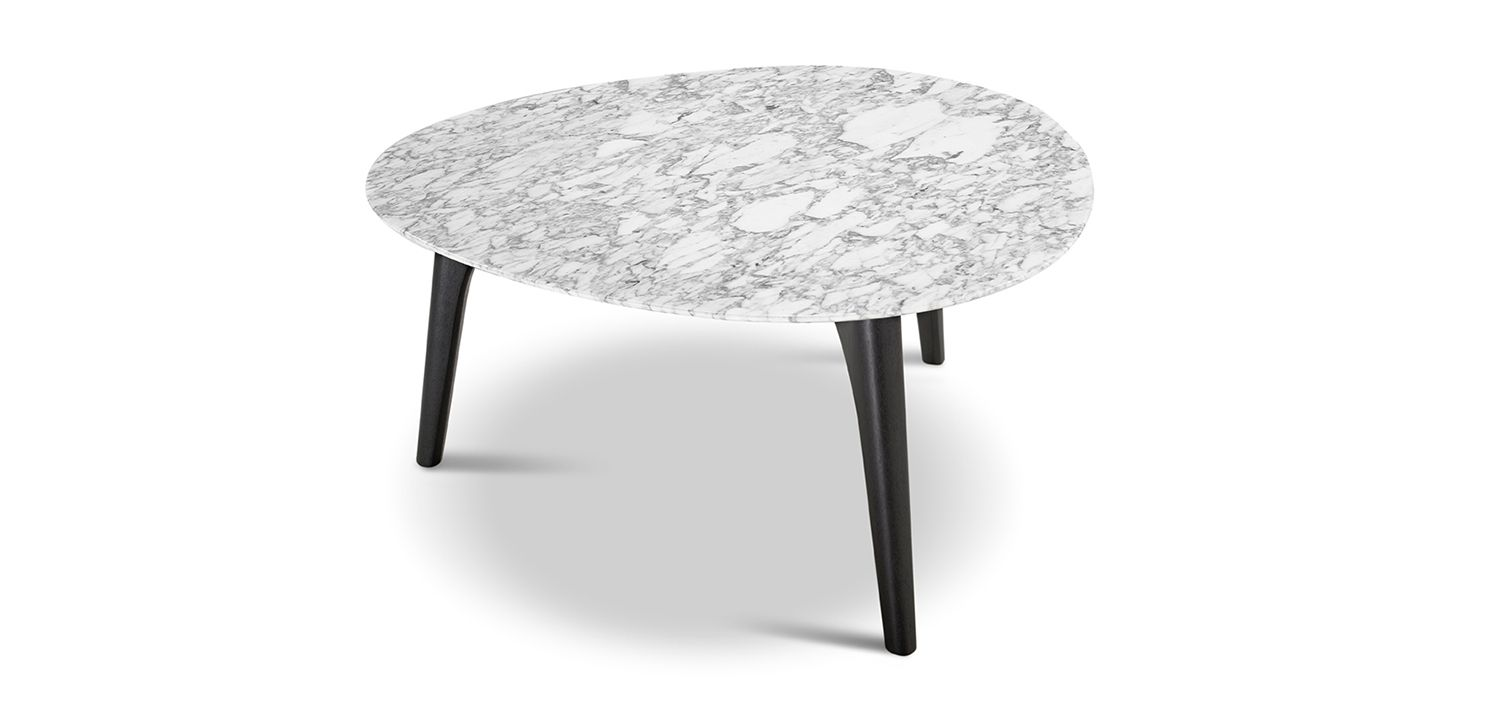 Crescent Marble Table 850