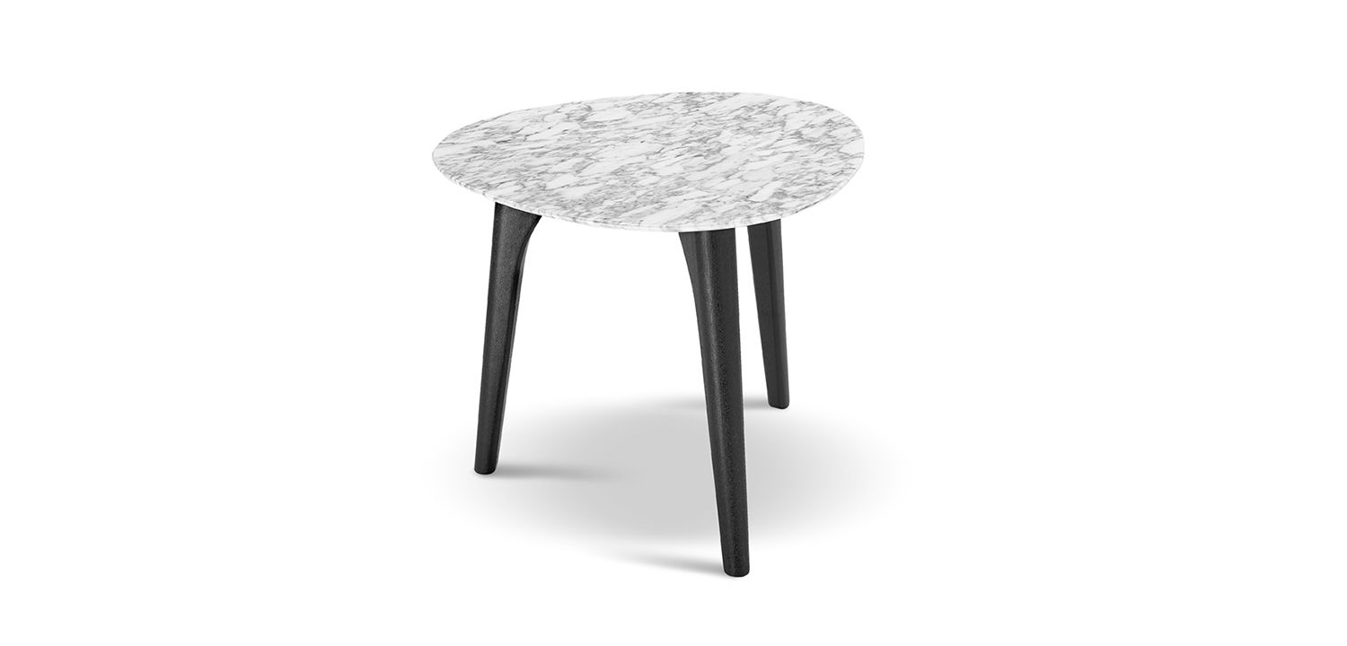 Crescent Marble Table 565