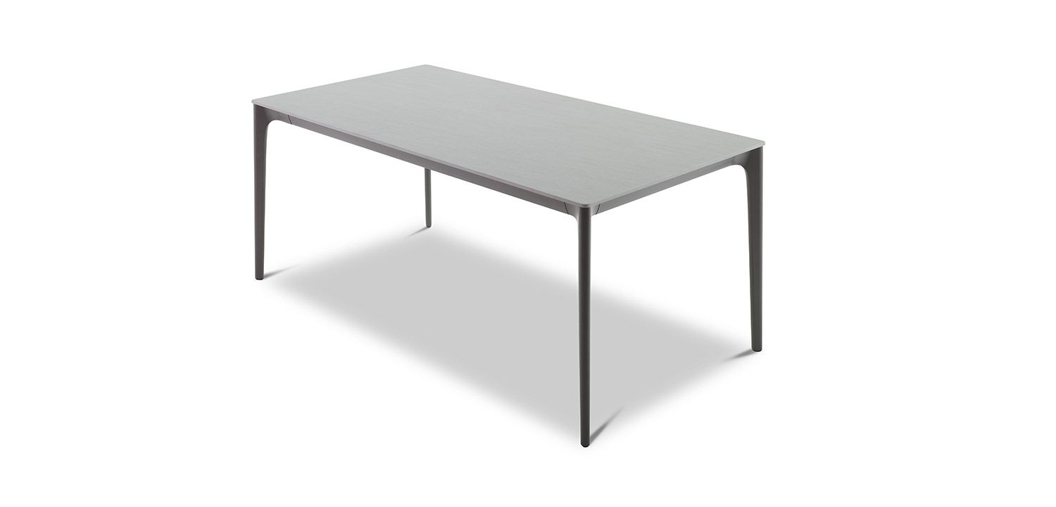 Quay Ceramic Dining Table 6 Seater