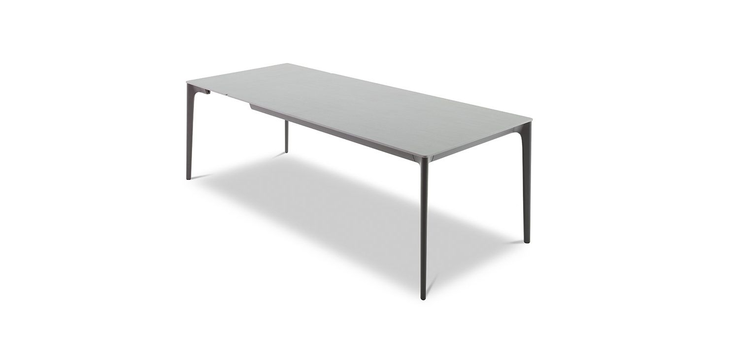 Quay Ceramic Dining Table 8 Seater Extension