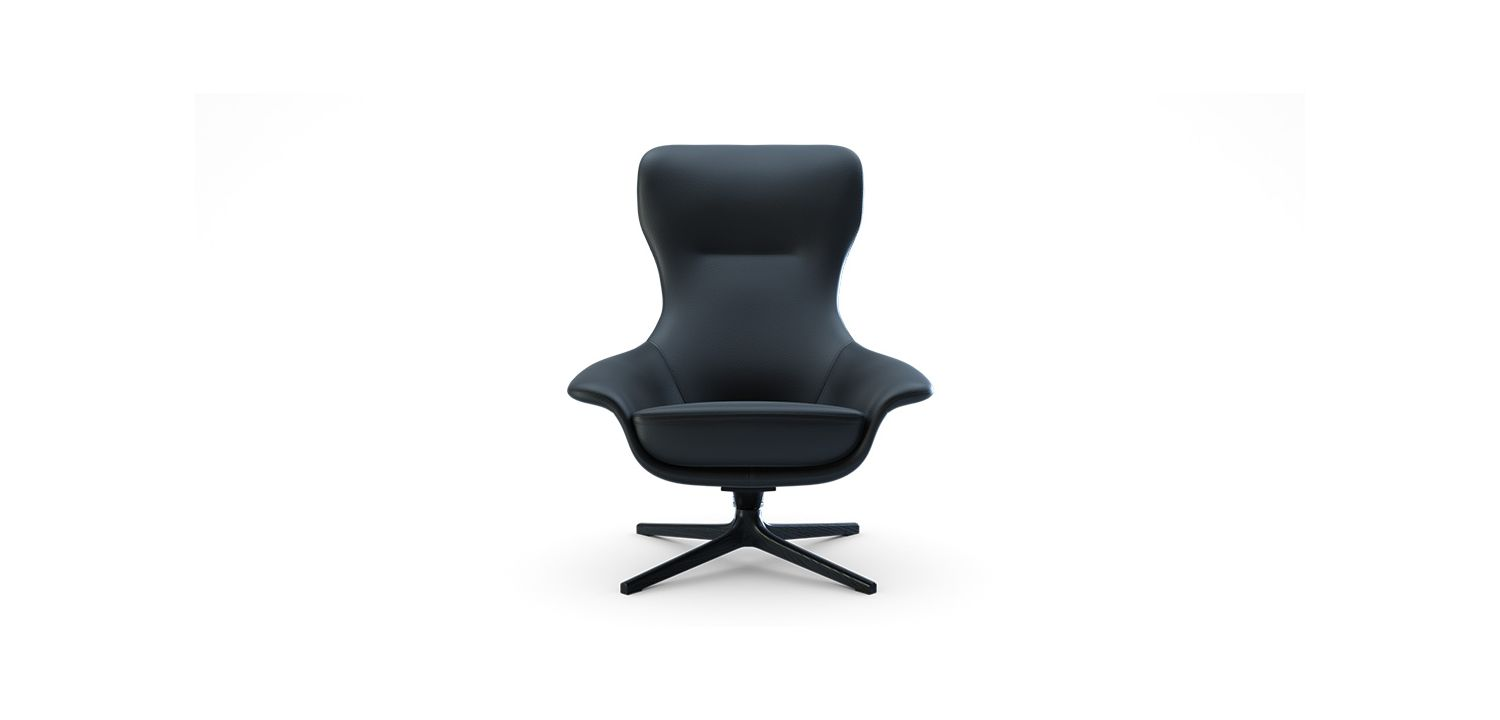 Seymour High Swivel Chair