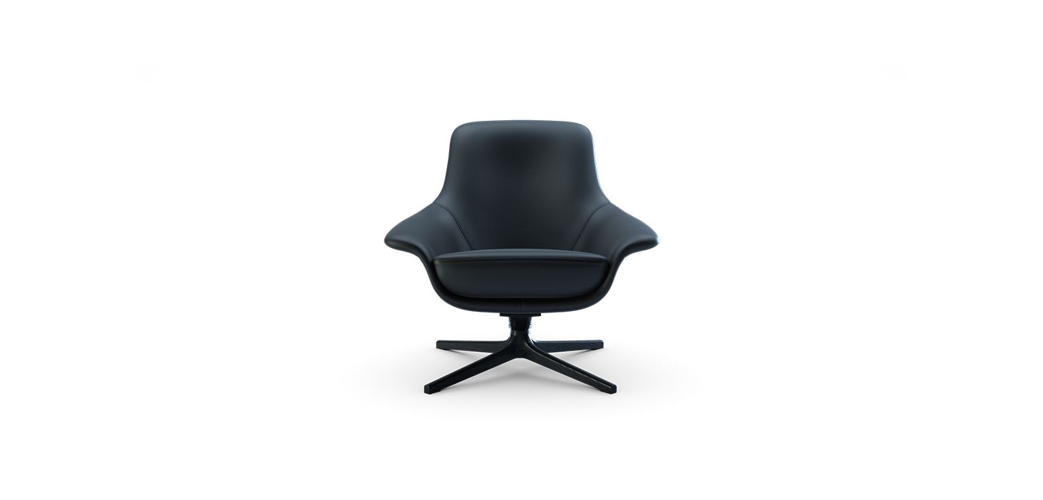 Seymour Low Swivel Chair
