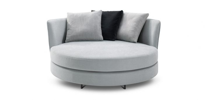 Delta III Circle Sofa Swivel